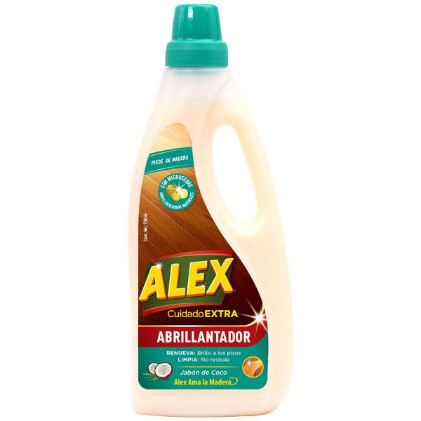 The new ALEX Shine Finish for wood floors cleans and brings back the shine to your floors, thanks to its formula made with naturally shiny micro-waxes.