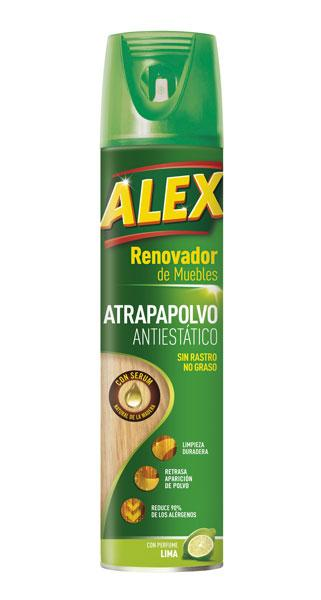 ALEX Antiseptic Dust-Trap is the best solution for long-lasting cleanliness. Thanks to its formula it reduces pollen and dust mite allergens by 90%.