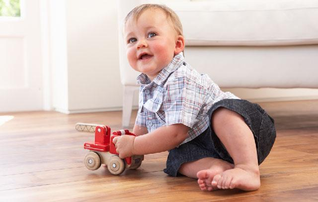 Wooden floors are cosy but tend to easily get spoiled, especially if there are kids at home.